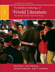 Bedford Anthology Of World Literature Compact Edition Volume 2