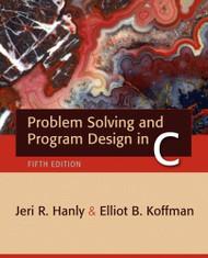 Problem Solving And Program Design In C
