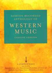 Norton Recorded Anthology Of Western Music Concise Volume