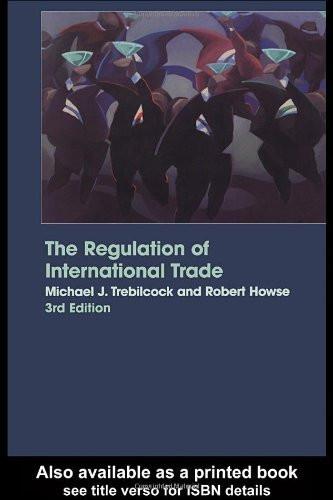 Regulation Of International Trade
