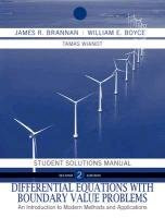 Differential Equations Student Solutions Manual