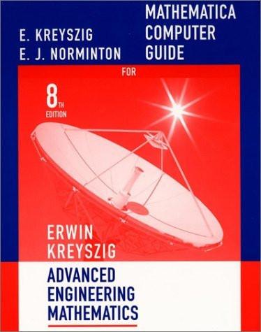 Mathematica Computer Manual To Accompany Advanced Engineering Mathematics