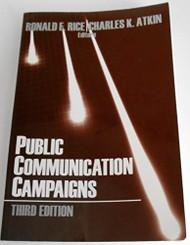 Public Communication Campaigns - Ronald E Rice