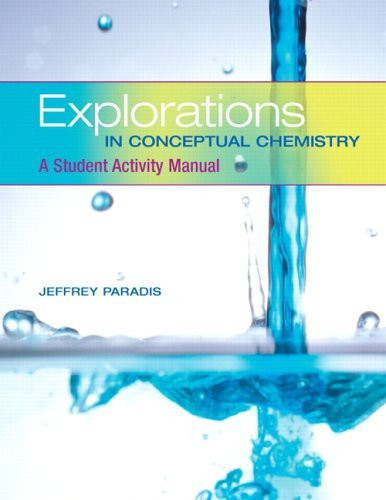 Explorations In Conceptual Chemistry