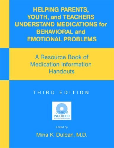 Helping Parents Youth And Teachers Understand Medications For Behavioral And