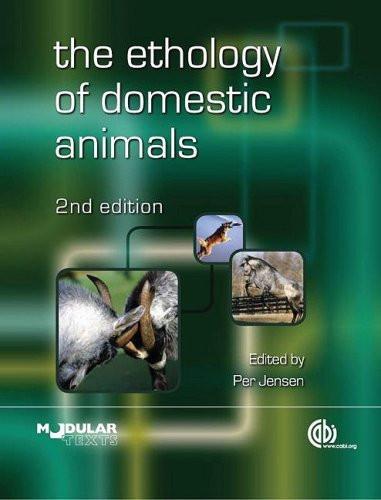 Ethology Of Domestic Animals