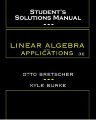 Student's Solutions Manual To Linear Algebra With Applications