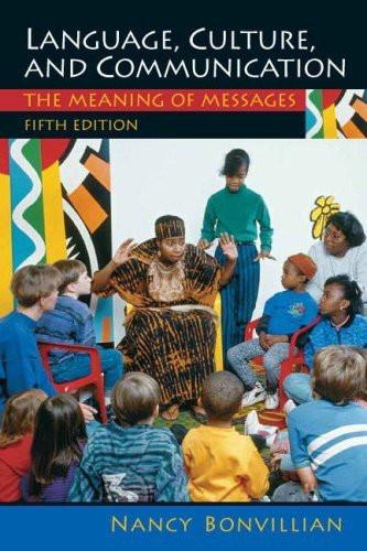 Language Culture And Communication