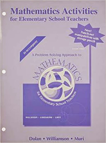 Mathematics Activities For Elementary School Teachers