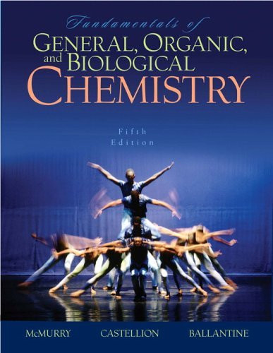 Fundamentals Of General Organic And Biological Chemistry