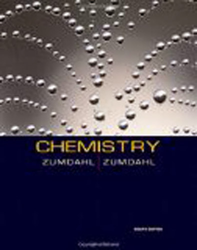 Student Solutions Guide For Zumdahl's Chemistry