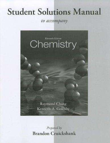 Student Solutions Manual  for Chemistry