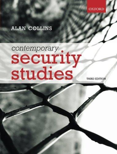 Contemporary Security Studies