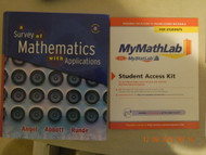 Survey Of Mathematics With Applications Student Starter Kit