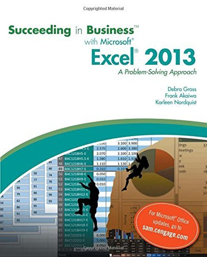 Succeeding In Business With Microsoft Excel