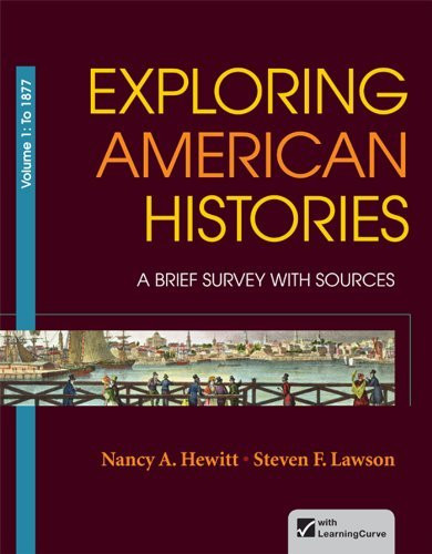 Exploring American Histories Volume 1