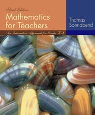 Mathematics For Teachers