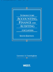 Introductory Accounting Finance And Auditing For Lawyers