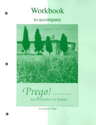 Workbook To Accompany Prego! An Invitation To Italian