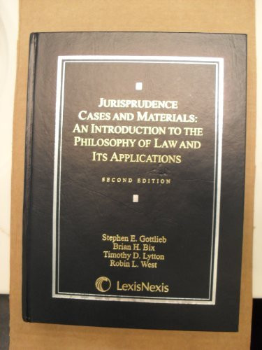 Jurisprudence Cases And Materials
