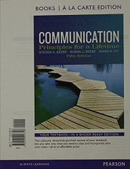 Communication: Principles for a Lifetime   by Steven Beebe