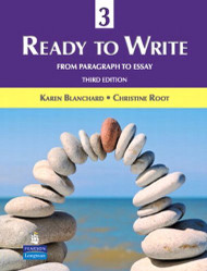 Ready To Write 3 From Paragraph To Essay