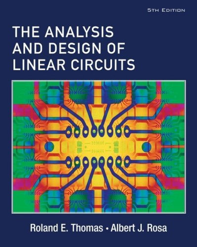 Analysis And Design Of Linear Circuits