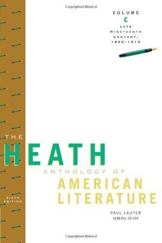 Heath Anthology Of American Literature Volume C