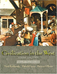 Civilization In The West Volume B