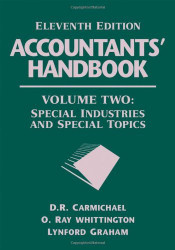 Accountants' Handbook Financial Accounting And General Topics volume 2