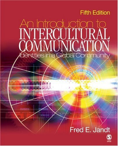 Introduction To Intercultural Communication