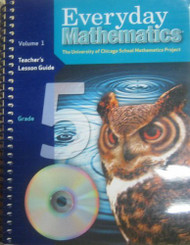 Everyday Mathematics: Teacher's Lesson Guide Grade 5 volume 1