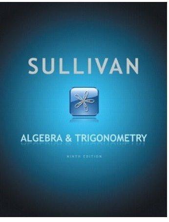 Sullivan Algebra And Trigonometry