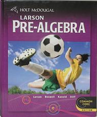 Pre-Algebra by HOLT MCDOUGAL