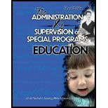 Administration And Supervision Of Special Programs In Education