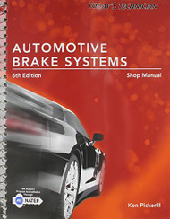 Today's Technician Automotive Brake Systems Shop Manual