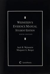 Weinstein's Evidence Manual