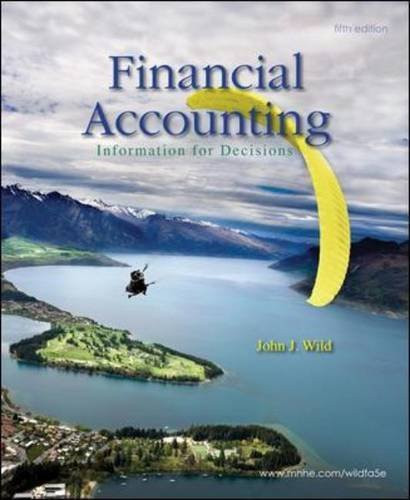 Financial Accounting Information For Decisions