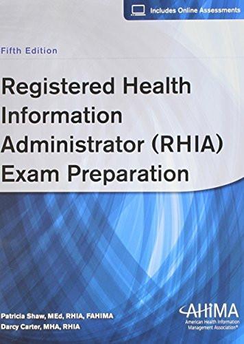 Registered Health Information Administrator Exam Preparation