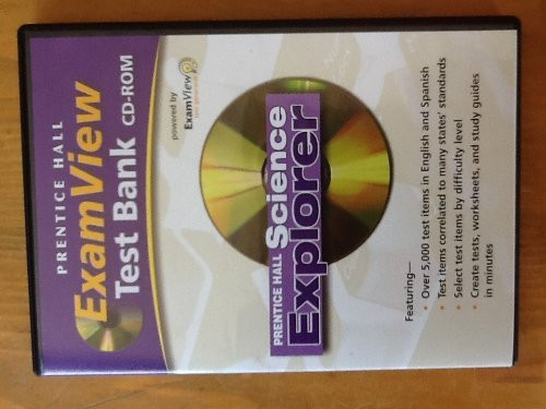 Examview Test Bank Cd-Rom For Prentice Hall Science Explorer