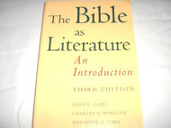 Bible As Literature