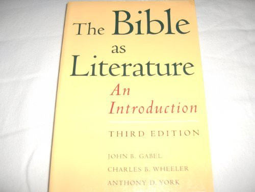 Bible As Literature