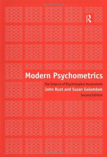Modern Psychometrics
