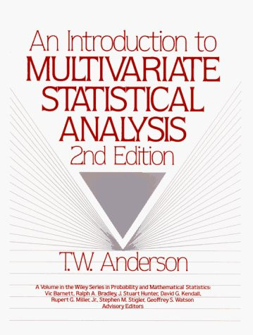 Introduction To Multivariate Statistical Analysis