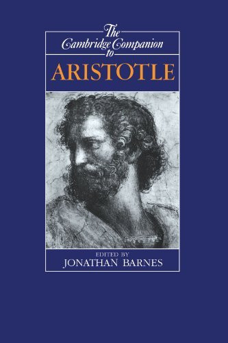 Cambridge Companion To Aristotle