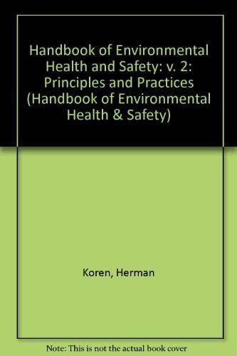 Handbook Of Environmental Health Volume 2