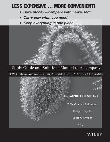 Student Study Guide to Accompany Organic Chemistry