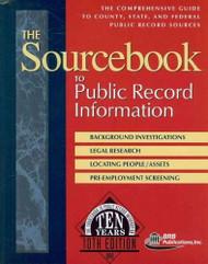 Sourcebook to Public Record Information