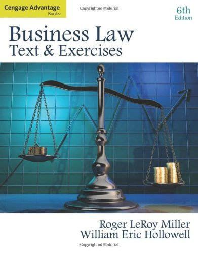 Business Law Text And Exercises