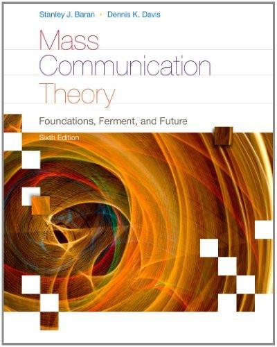 Mass Communication Theory